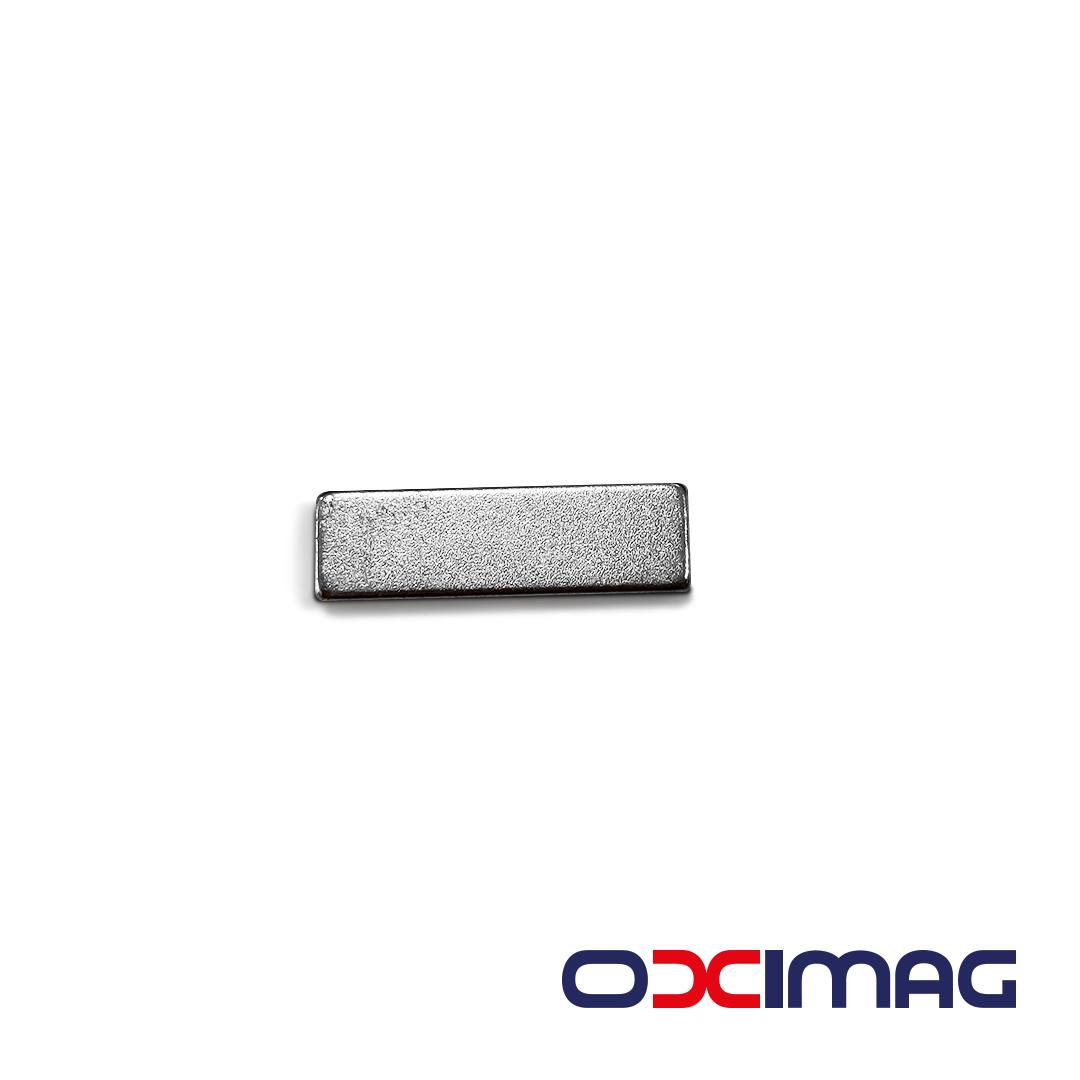 Ímã de Neodímio Bloco - 25 X 7,5 X 2,5 mm - N48