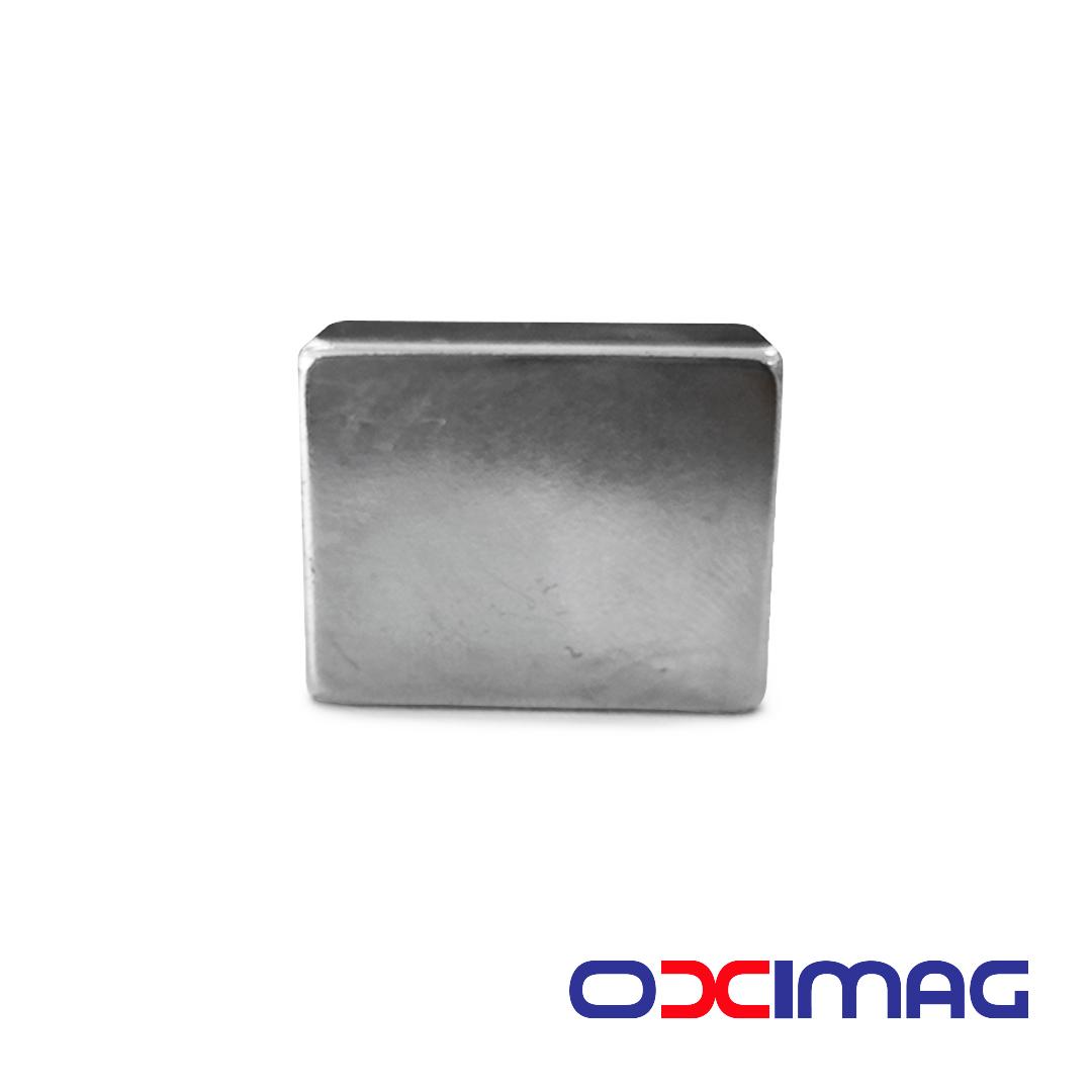 Ímã de Neodímio Bloco - 28 X 22 X 14  mm - N50
