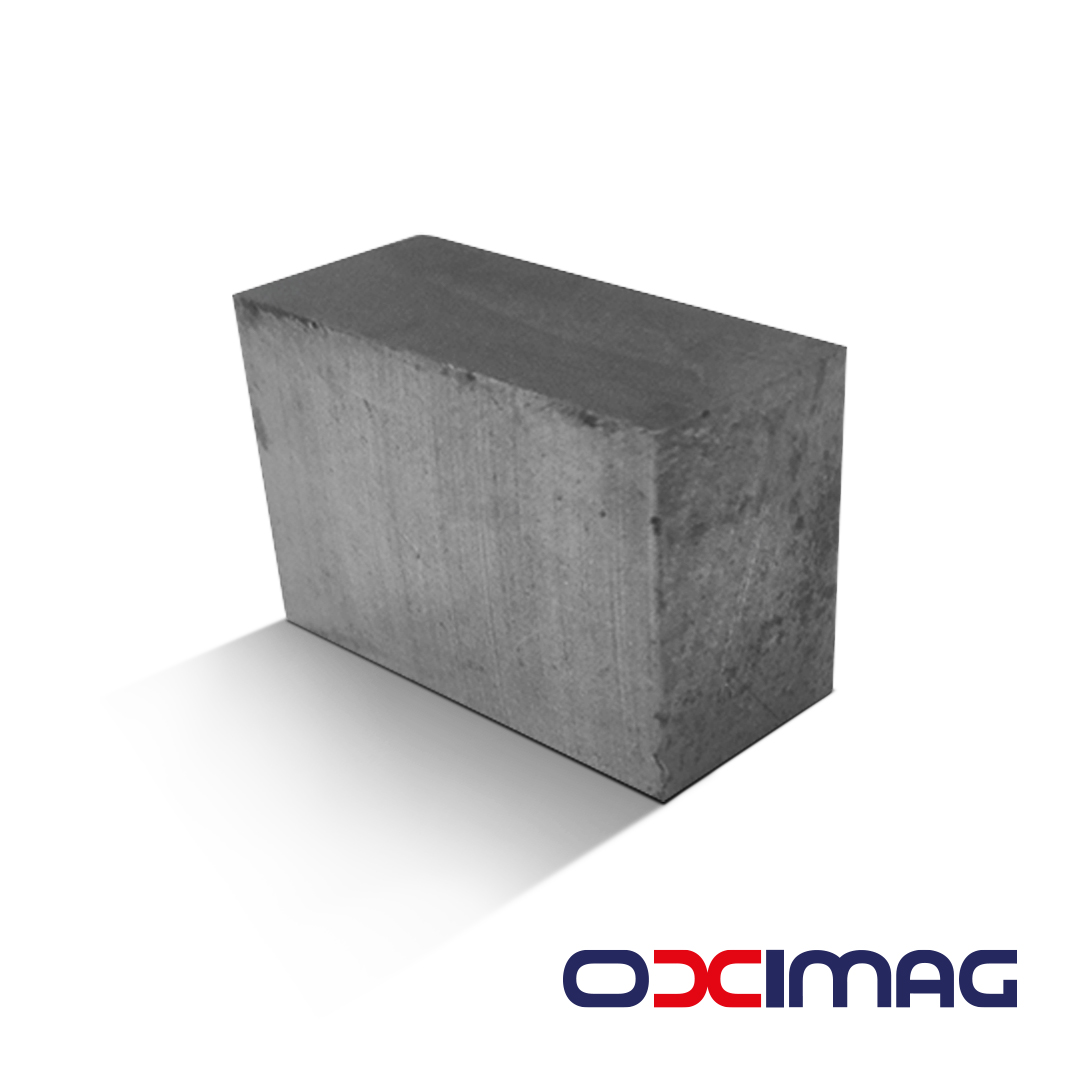 Ímã de Neodímio Bloco - 36 X 23 X 16,5  mm - N45 - SEM BANHO
