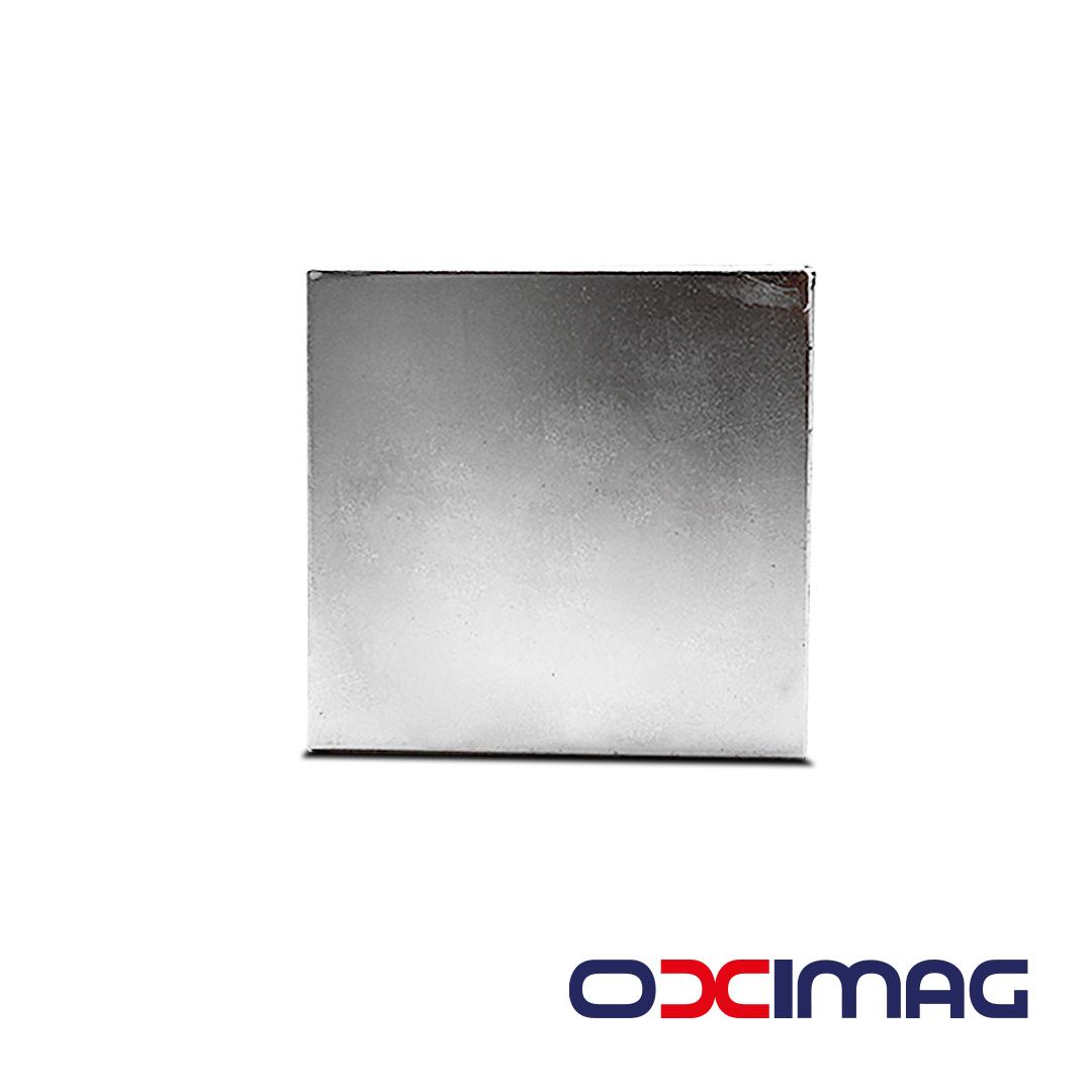Ímã de Neodímio Bloco - 60 X 60 X 25 mm - N35