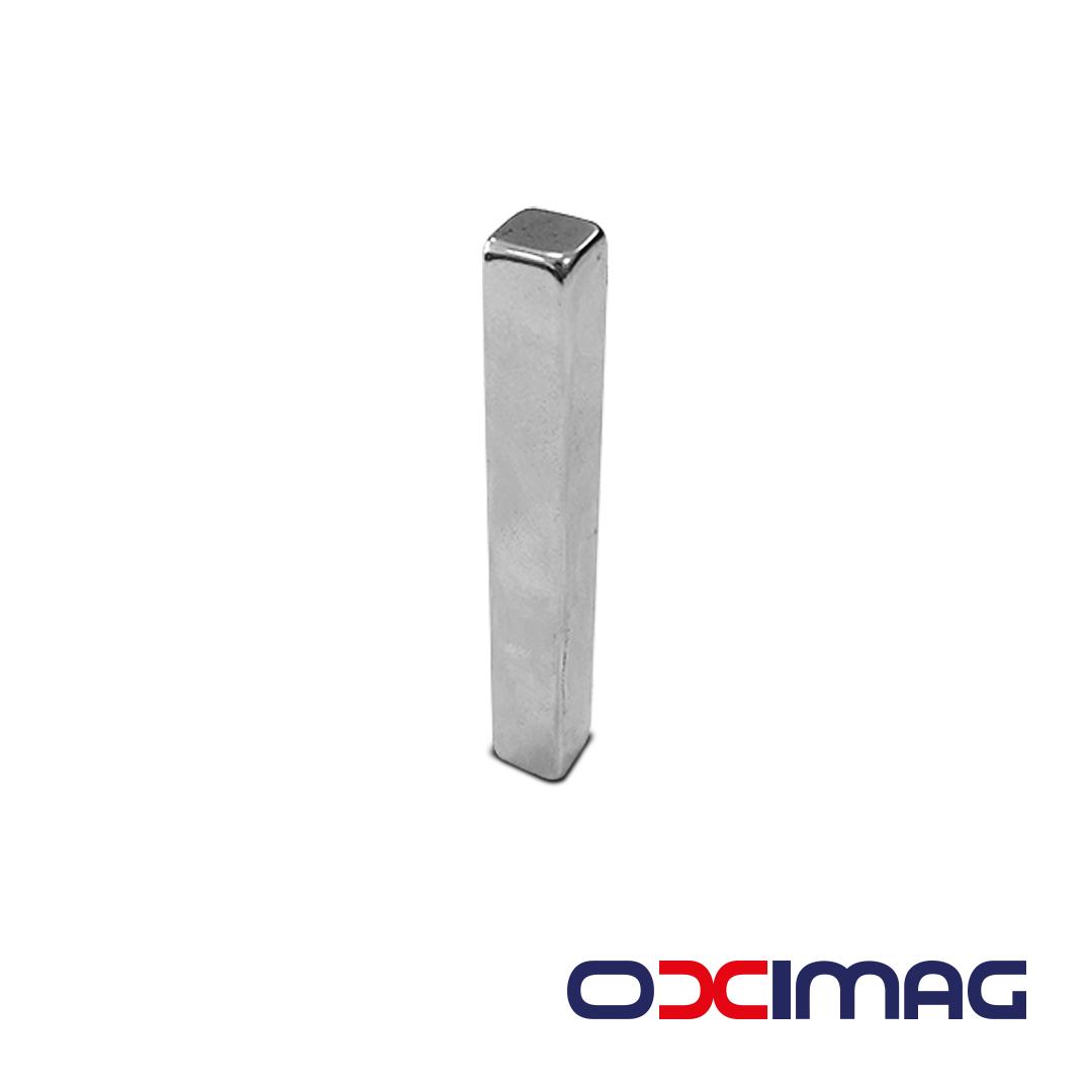 Ímã de Neodímio Bloco - 70 X 10 X 10  mm - N50