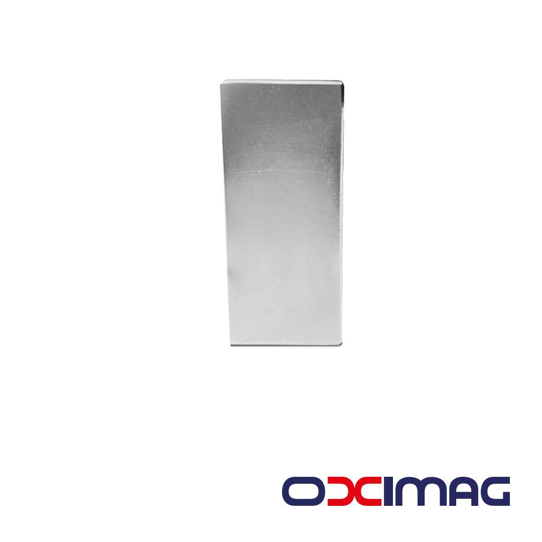 Ímã de Neodímio Bloco - 70 X 30 X 10 mm - N48