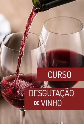 Curso Degustação de Vinhos Presencial