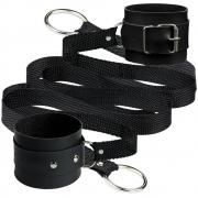 Algemas Bracelete Com Tiras Para Amarrar Sado - La Pimienta