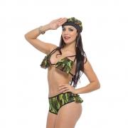 Fantasia Militar Calcinha - Sapeka