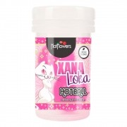 Xana Loka Hot Ball Esquenta Esfria Vibra 3g - Hot Flowers