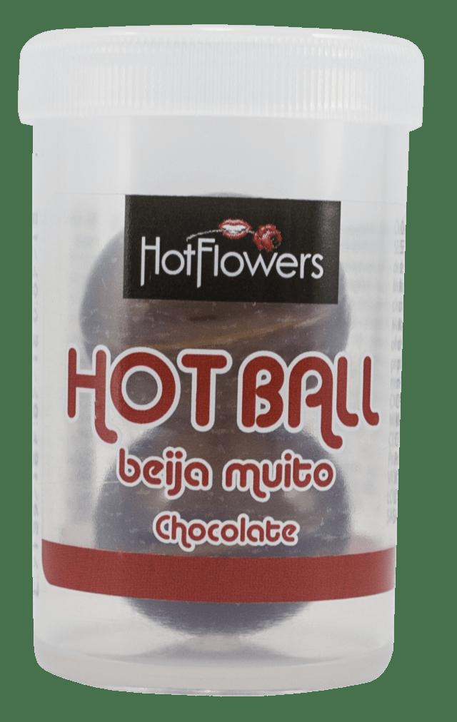 BOLINHA HOT BALL BEIJA MUITO 3G   HOT FLOWERS
