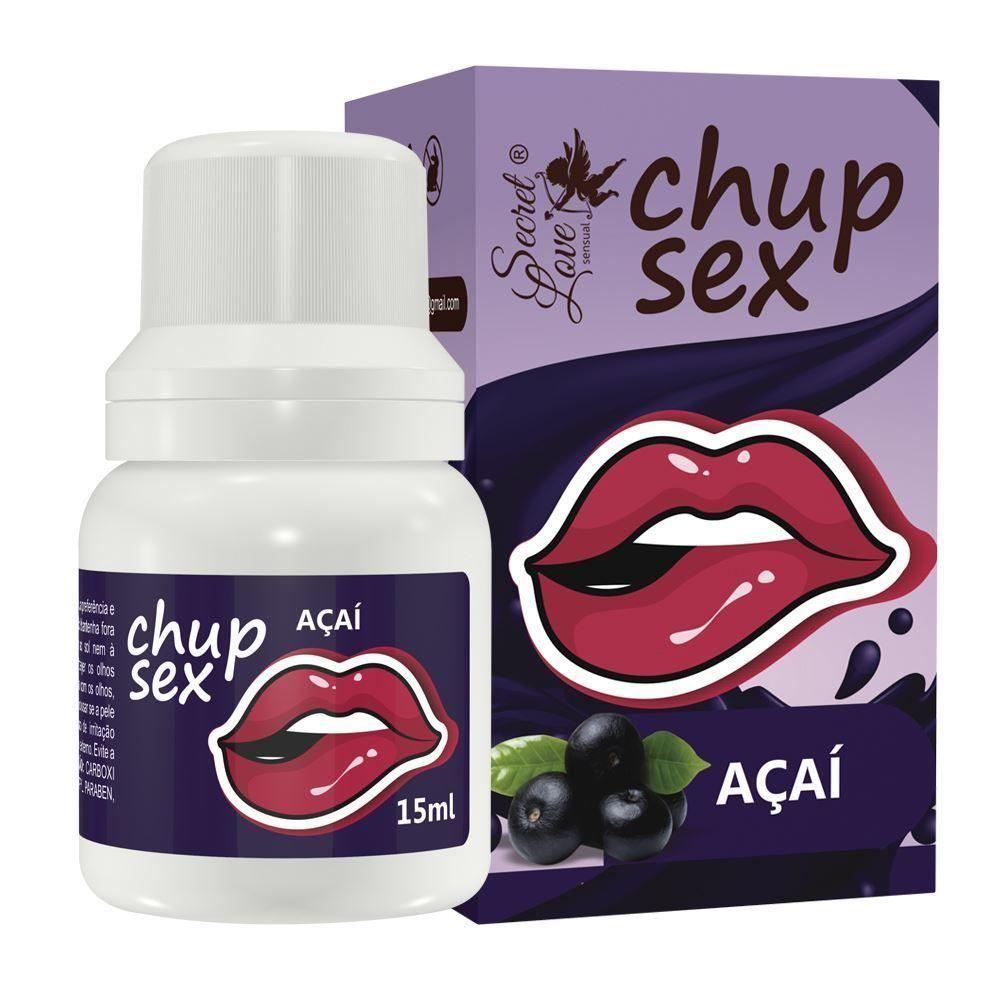 Chup Sex Gel Beijável 15ml - Segred Love