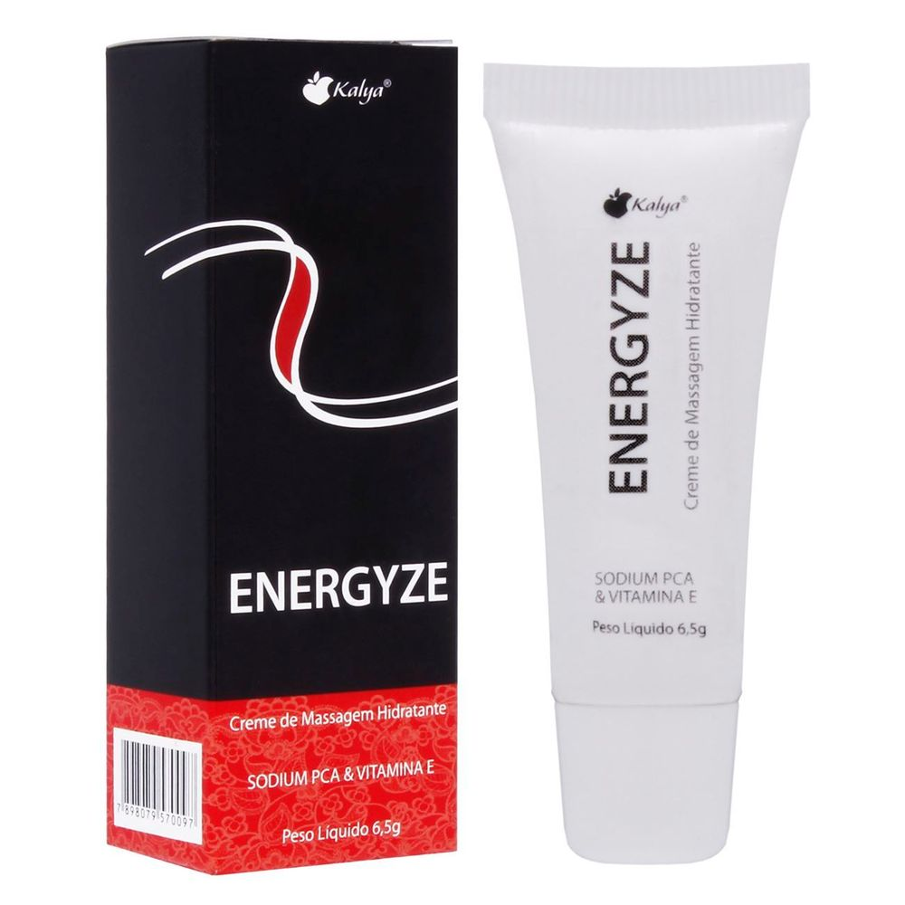 Creme Vibrado Energyze 6,5g - Kalya