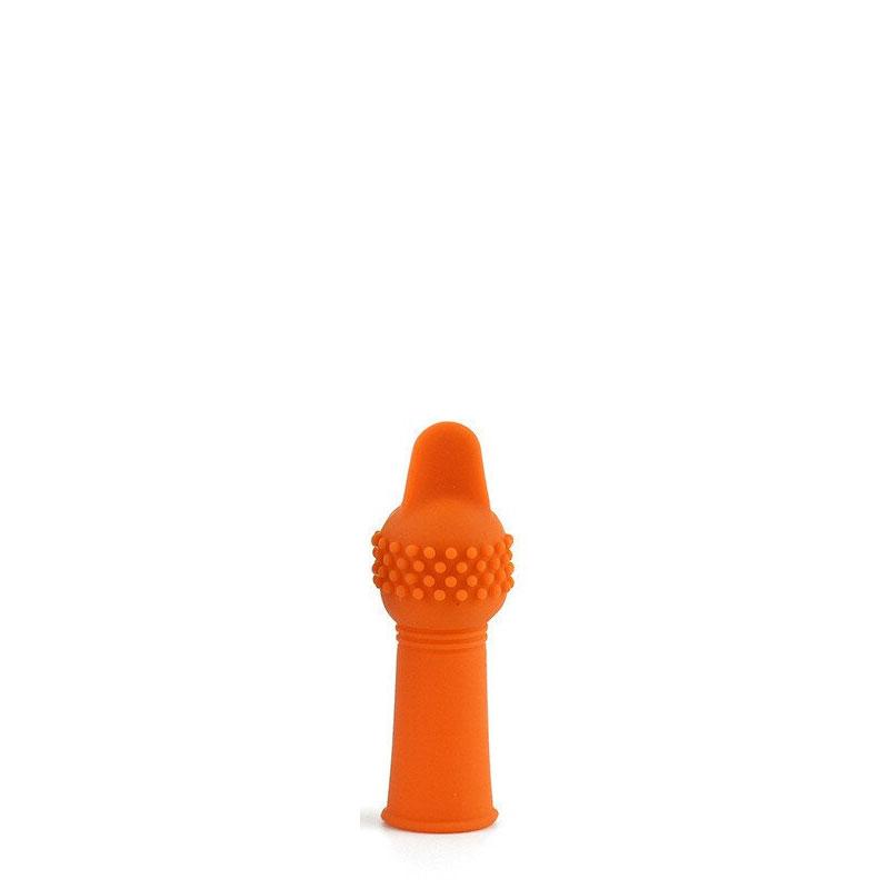 Dedeira Vibratória em Silicone com Saliências Massageadoras - 3R Import