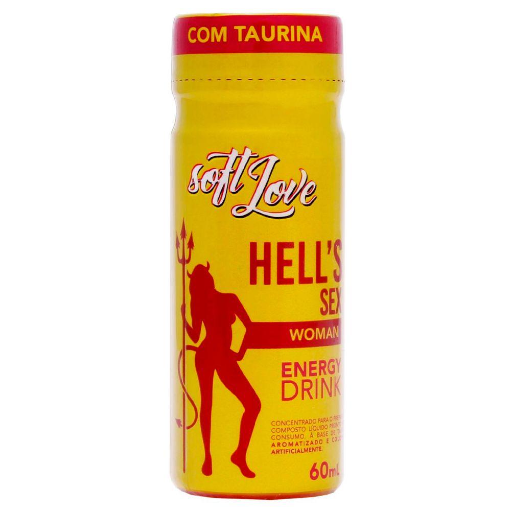 Energético Hell's Sex Energy Drink 60ml - Soft Love