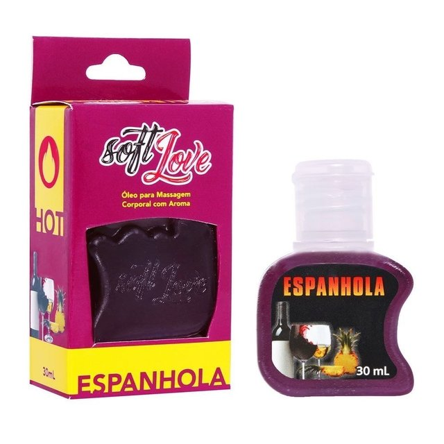 GEL AROMATIZANTE 30 ML HOT   SOFT LOVE