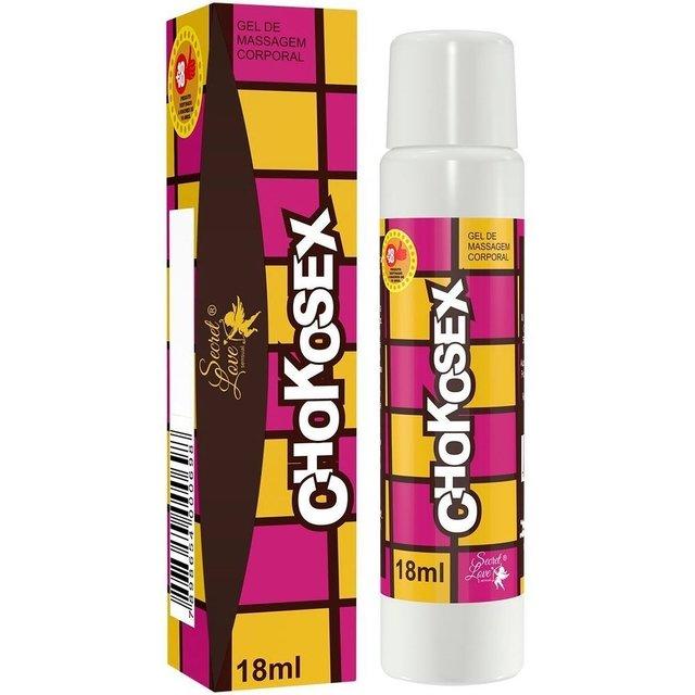 Chokosex Gel Beijável 18ml - Segred Love