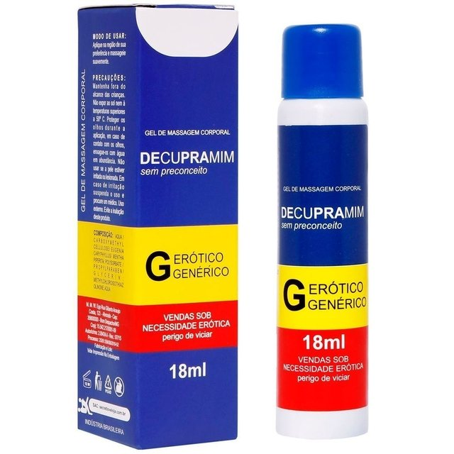 GEL DESSENSIBILIZANTE DECUPRAMIM 18ML   SECRET LOVE