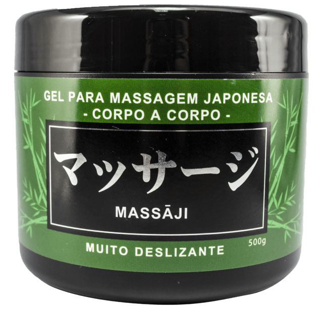 GEL PARA MASSAGEM JAPONESA 500G  HOT FLOWERS