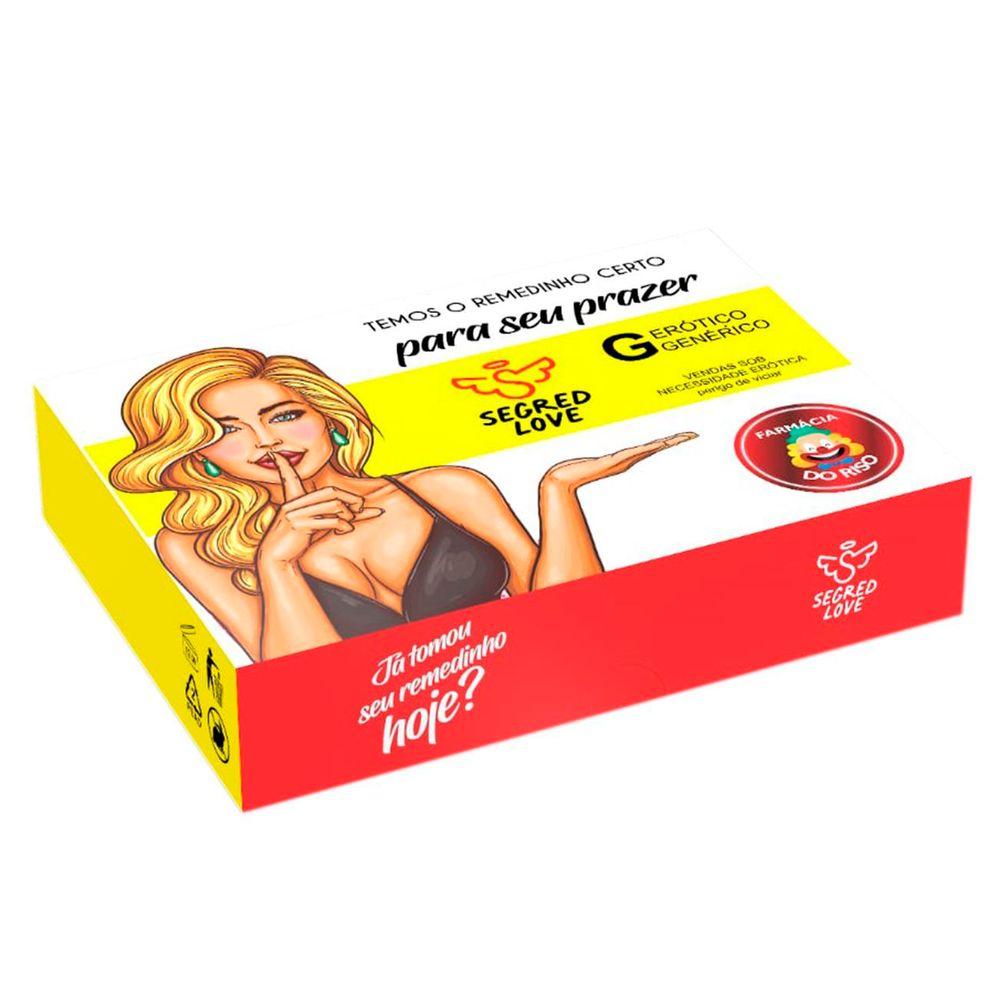 Kit Farmacinha Do Riso 5 Unidades - Segred Love