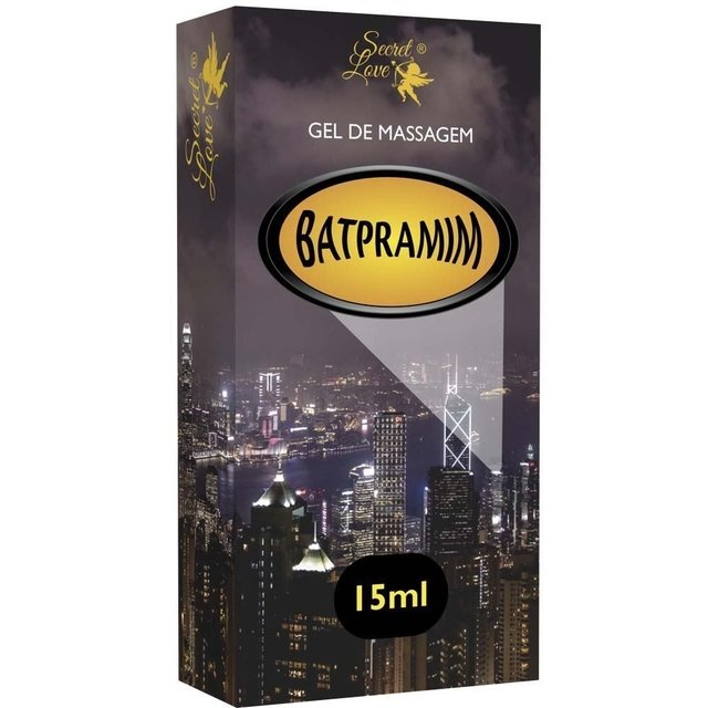 LUBRIFICANTE SILICONADO BATPRAMIN 15ML   SECRET LOVE
