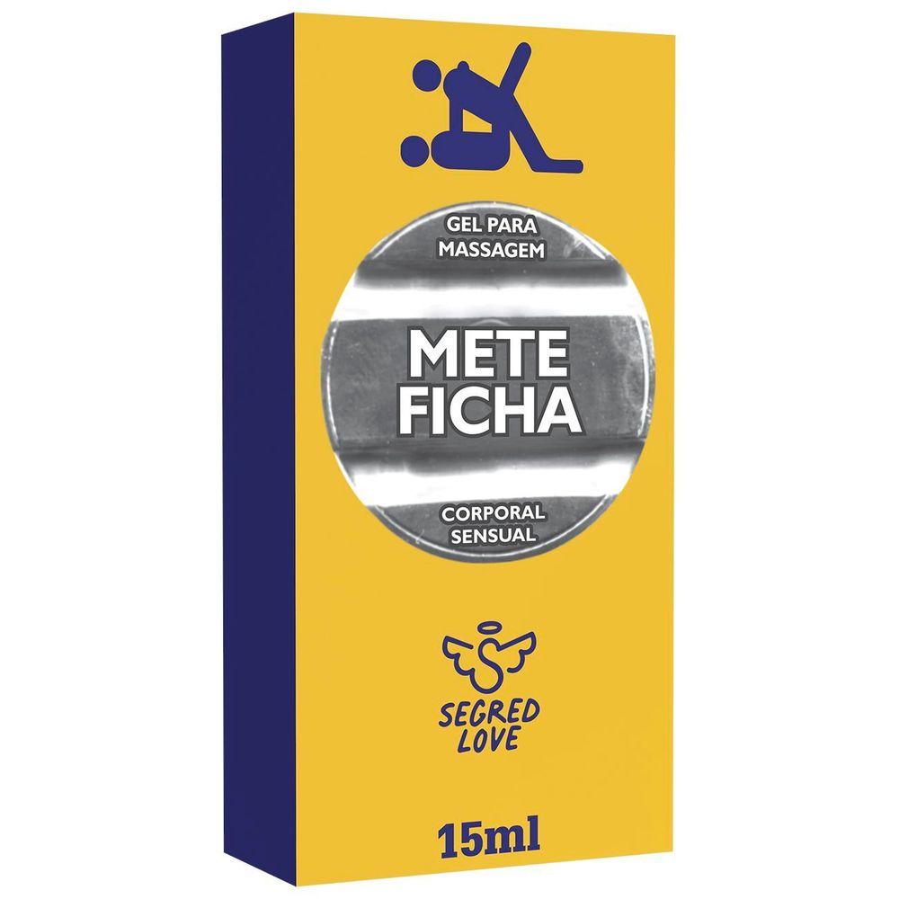 METE FICHA GEL PROLONGADOR DE EREÇÃO 15ML - SECRET LOVE
