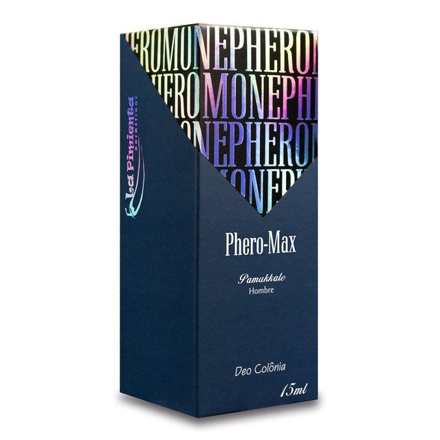 PERFUME PHERO MAX MASCULINO PAMUKKALE 15ML   LA PIMIENTA