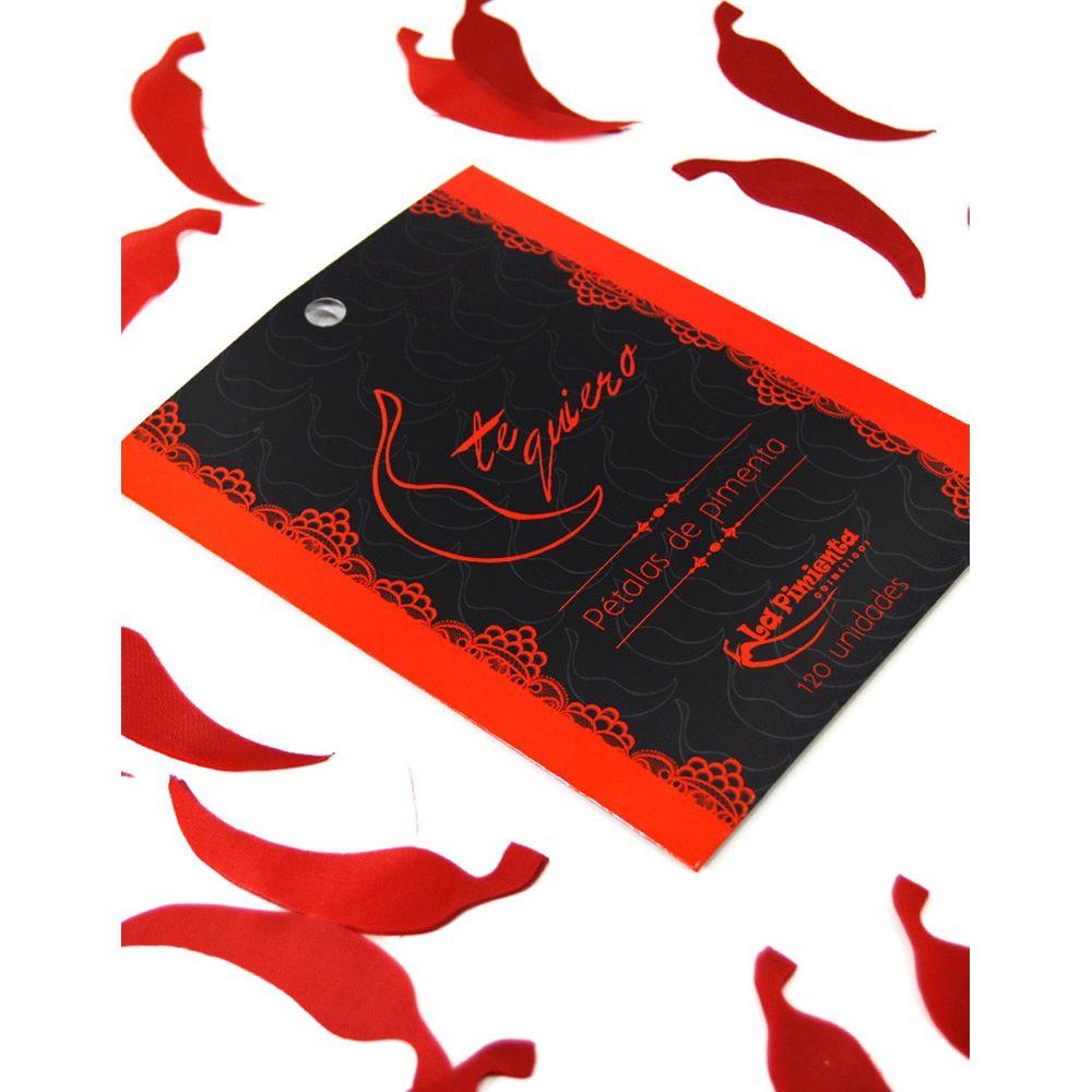 Pétalas Perfumadas em Formato de Pimenta 120 Pétalas - La Pimenta