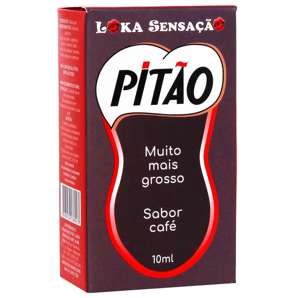 PITÃO MUITO MAIS GROSSO GEL EXCITANTE 10ML - LOKA SENSAÇÃO