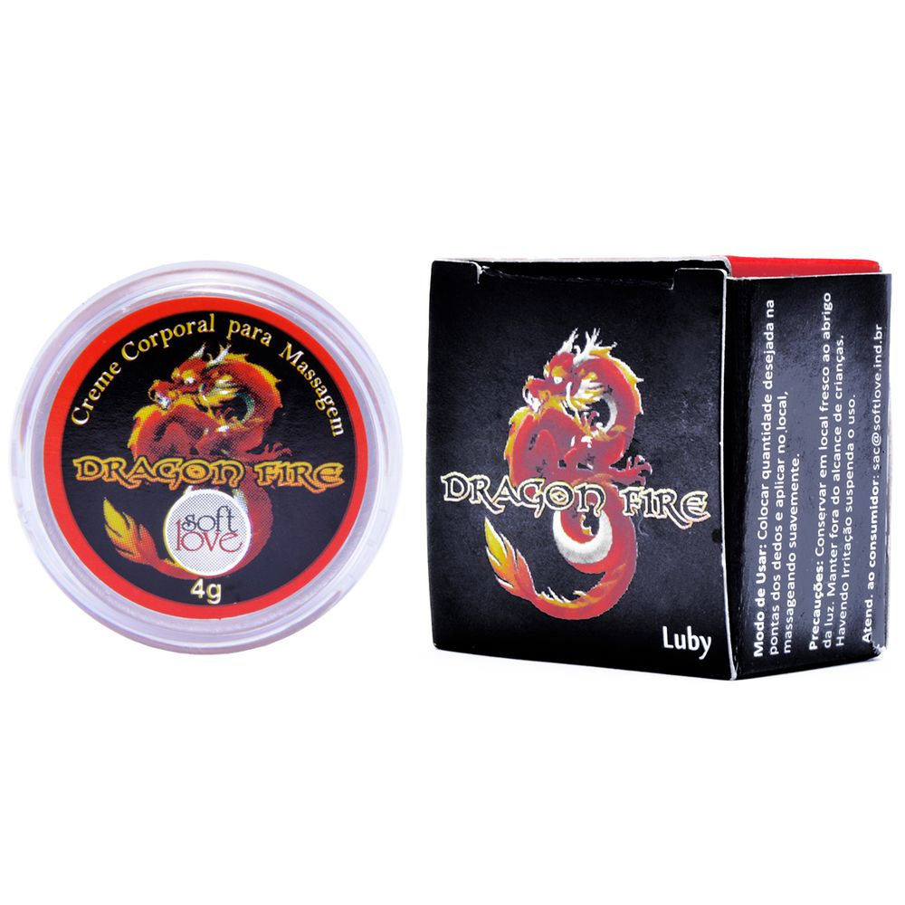 Pomada Luby Dragon Fire 4g - Soft Love