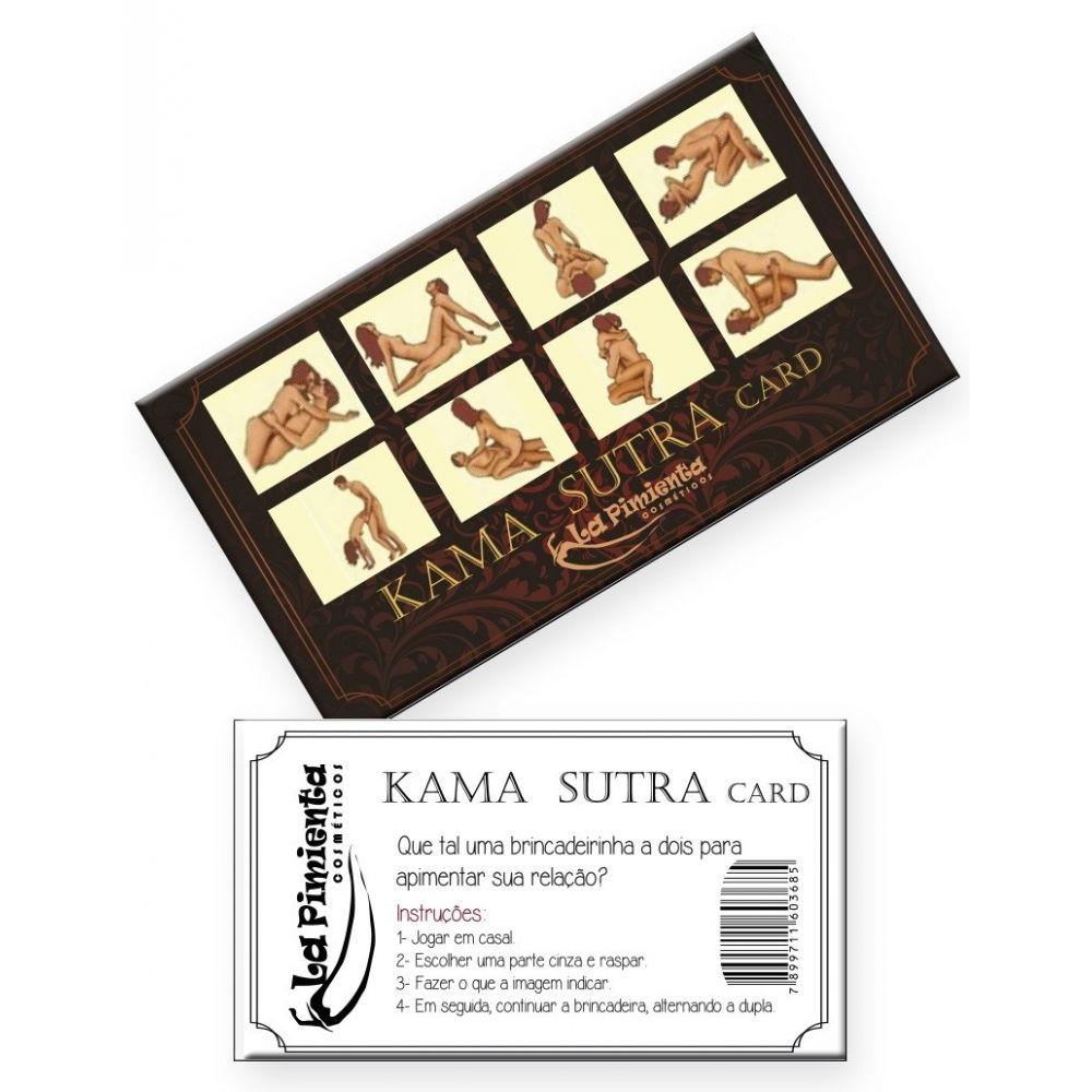 Raspadinha Kama Sutra Card 5 Unidades - La Pimenta