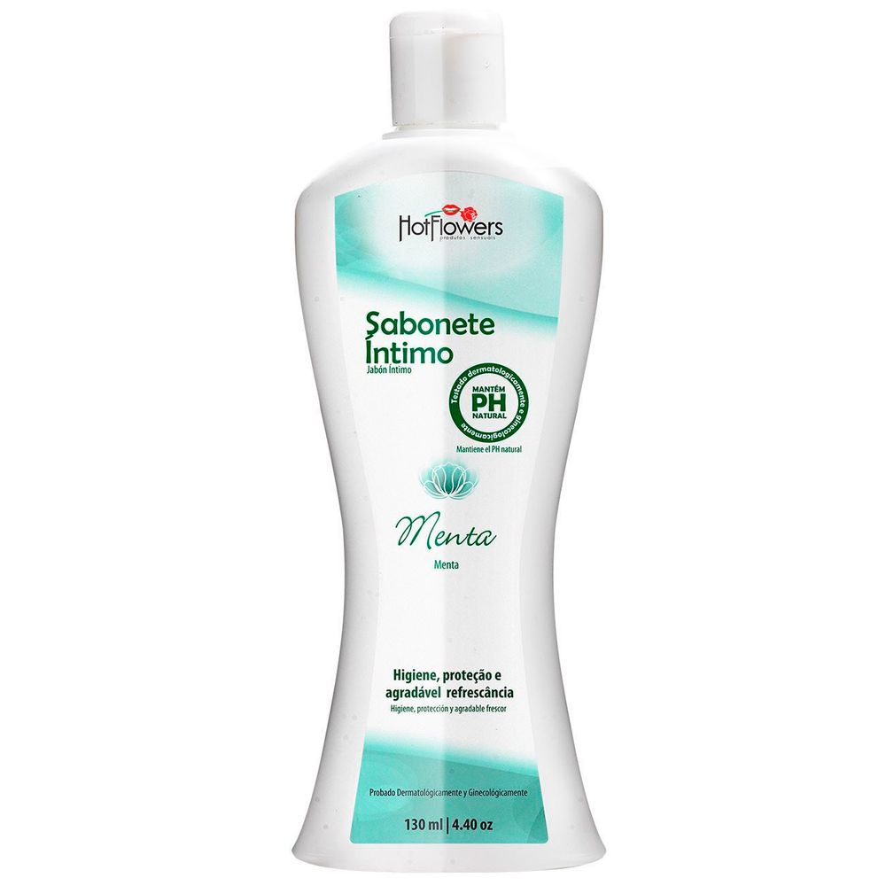 SABONETE INTIMO 130ML   HOT FLOWERS