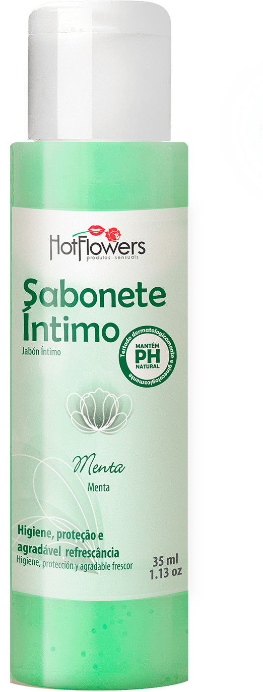 SABONETE INTIMO 35ML   HOT FLOWERS