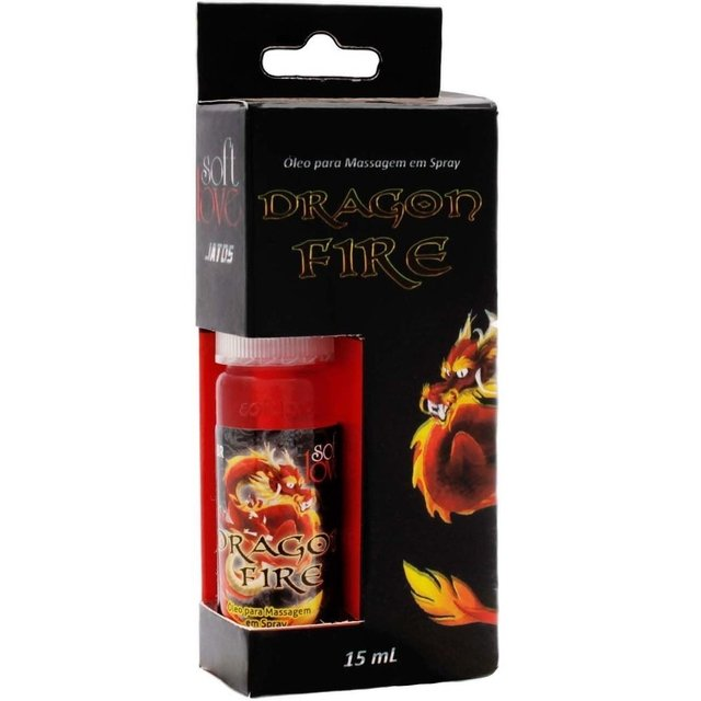 SPRAY DRAGON FIRE JATOS 15ML   SOFT LOVE