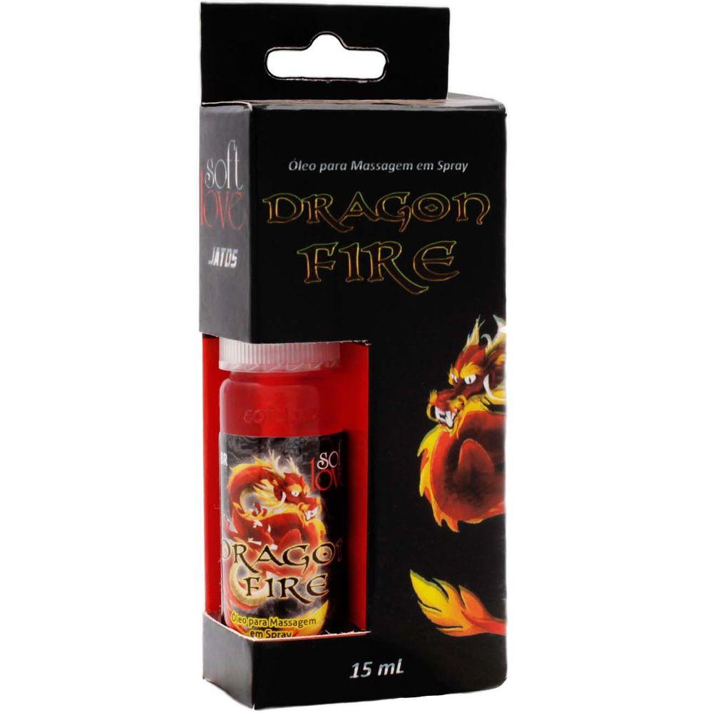 Spray para Massagem Dragon Fire 15g - Soft Love