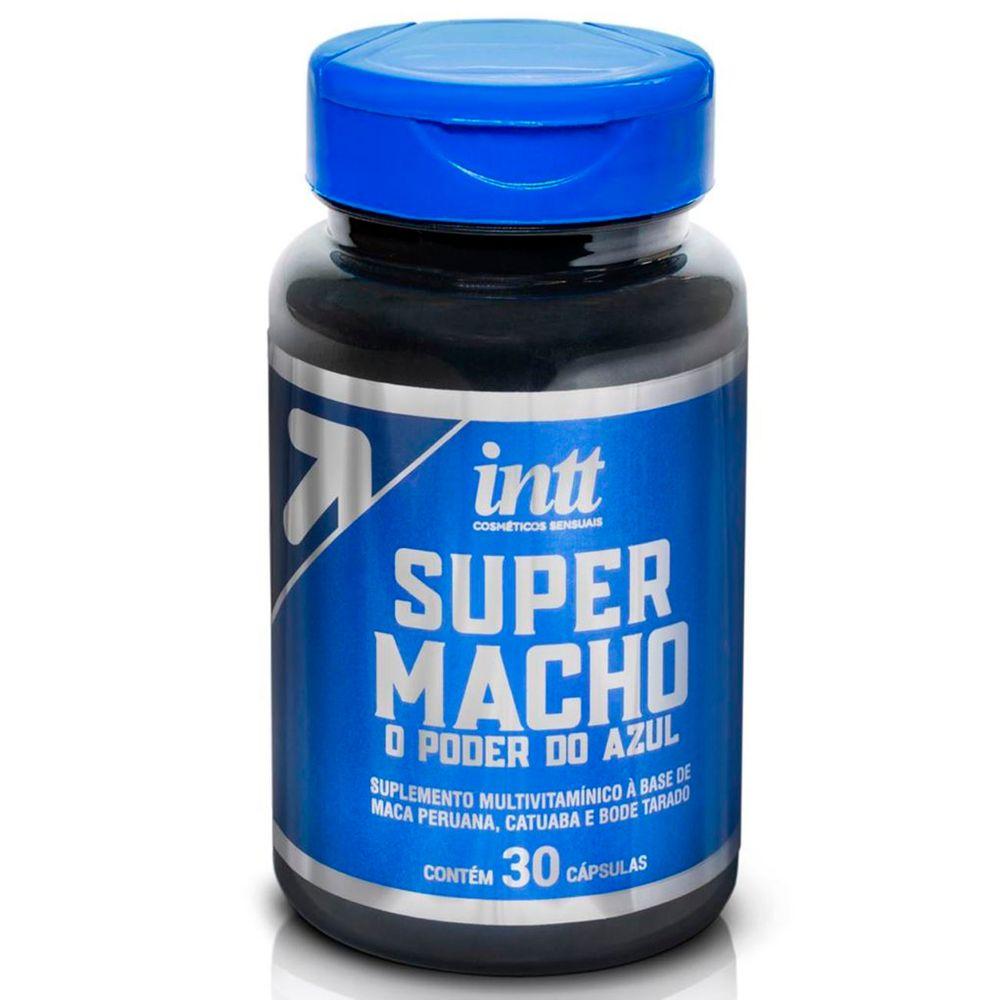 Super Macho Suplemento Estimulante 30 unidades - Intt