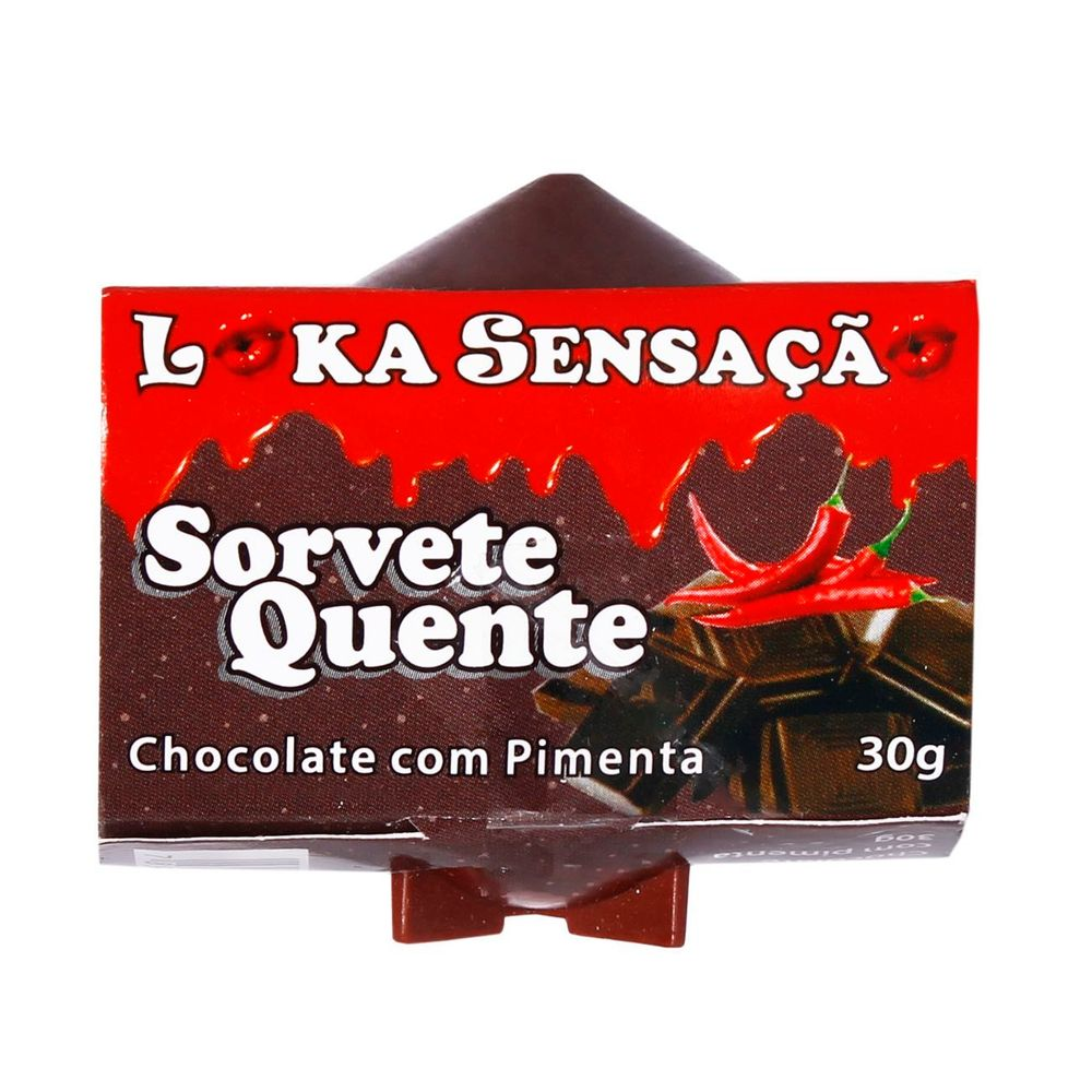 VELA SORVETE CHOCOLATE COM PIMENTA LOKA