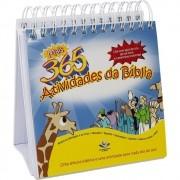 365 ATIVIDADES DA BIBLIA CALENDARIO DE MESA TNL550PCM1 - SBB