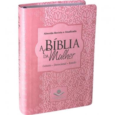 A BIBLIA RA DA MULHER MEDIA CP SINT - ROSA CLARO