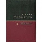 BIBLIA AEC THOMPSON LETRA GRANDE CP LUXO S/INDICE - VERDE/VINHO
