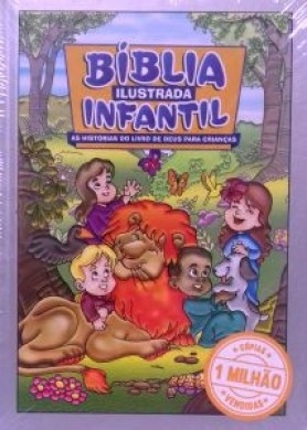 BIBLIA ILUSTRADA INFANTIL - PRATA