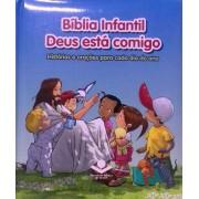 BIBLIA INFANTIL DEUS ESTA COMIGO SBB