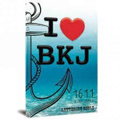 BIBLIA KING JAMES 1611 I LOVE - LETTERING BIBLIE