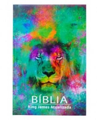 BIBLIA KING JAMES ATUALIZADA CP DURA - LEAO COLOR