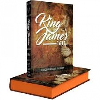 BIBLIA KING JAMES COM CONCORDANCIA - LEAO