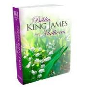 BIBLIA KING JAMES PARA MULHERES CP LUXO - FLORIDA