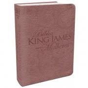 BIBLIA KING JAMES PARA MULHERES CP LUXO - ROSE GOLD