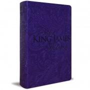 BIBLIA KING JAMES PARA MULHERES CP LUXO - ROXO