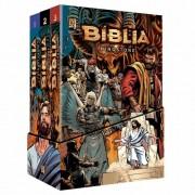 BIBLIA KINGSTONE BOX MANGA - A BIBLIA COMPLETA EM QUADRINHOS