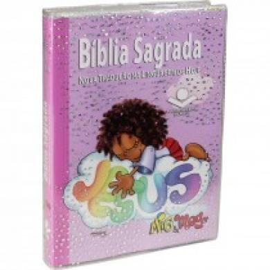 BIBLIA MIG E MEG CP BROCHURA - ROSA