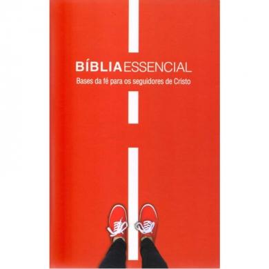 BIBLIA NA ESSENCIAL CP DURA ILUSTRADA - VERMELHA