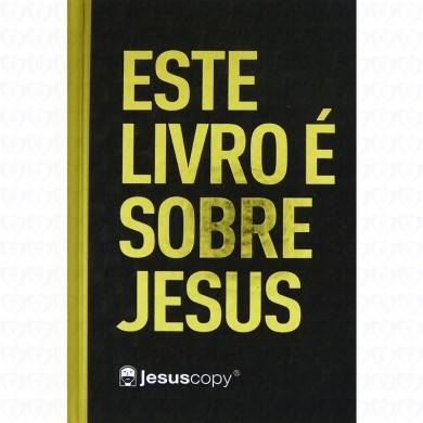 BIBLIA NA JESUS COPY CP DURA - PRETO COM DOURADO