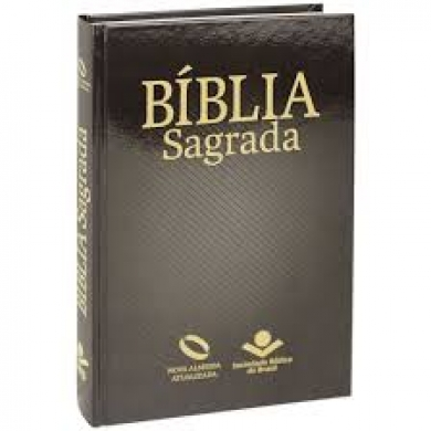 BIBLIA NA LETRA GRANDE CP DURA - PRETA
