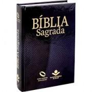 BIBLIA NA SAGRADA C/ LETRA MAIOR CP DURA - PRETA